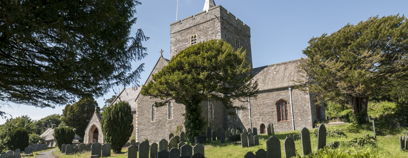 The Church of St Padarn, Llanbadarn Fawr.